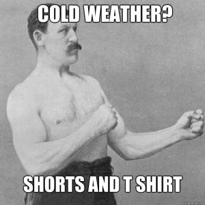 cold weather meme