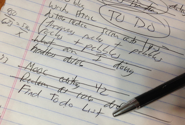 Top Ten List for the Importance of Making Lists | C. Jane Taylor